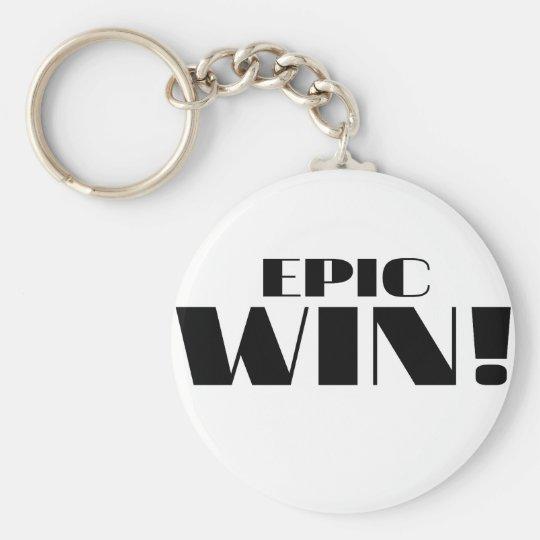 Epic Win! Keychain