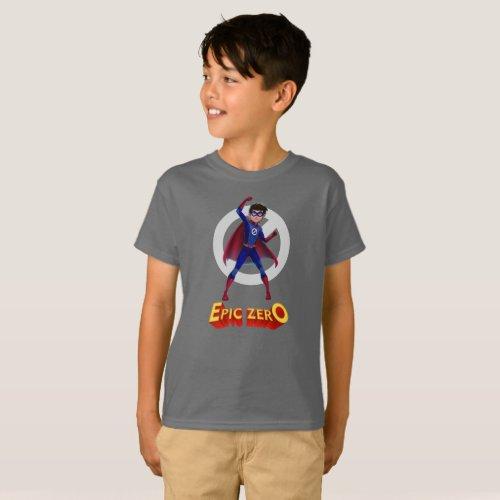 Epic Zero Elliott Kids T_Shirt
