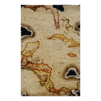 EpicTreasure Map #1 Stationery Paper