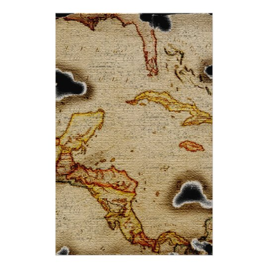 EpicTreasure Map #1 Stationery