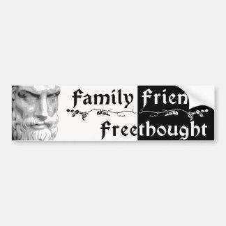 Epicurus: Amigos Freethought de la familia Pegatina Para Auto