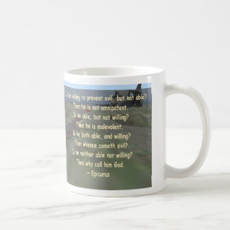 epicurus coffee mug