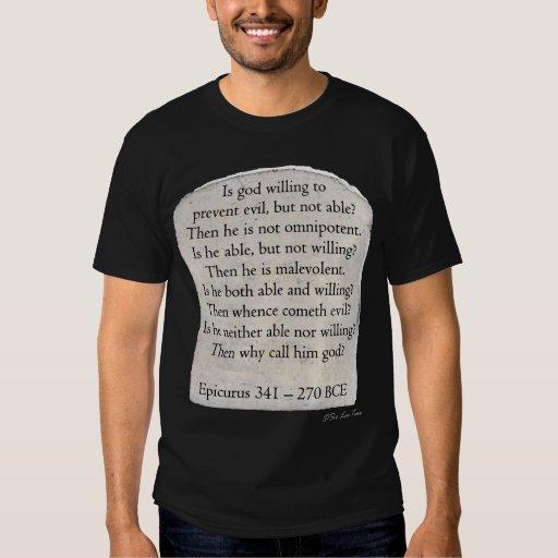 Epicurus - Dark - Tee Shirt