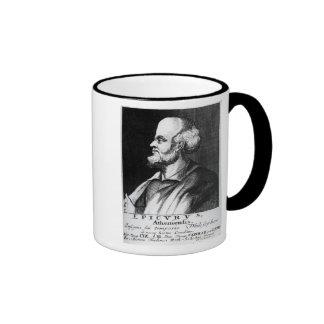 Epicurus, engraved by Johann Fredrich Schmidt Coffee Mugs