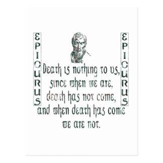 Epicurus Post Cards