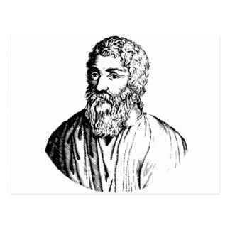 Epicurus Postcard