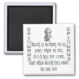 Epicurus Refrigerator Magnet