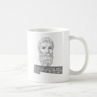 epicurus the art of living mugs