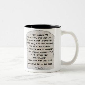 Epicurus - Why call him god? Mugs