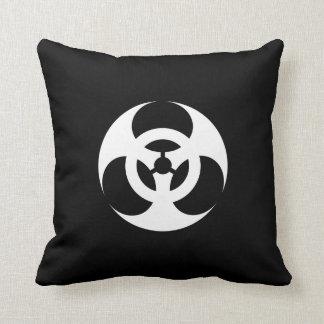 Epidemic Pictogram Throw Pillow