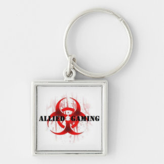 Epidemic Square Keychain