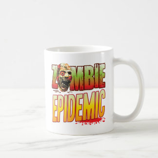 Epidemic Zombie Head Classic White Coffee Mug