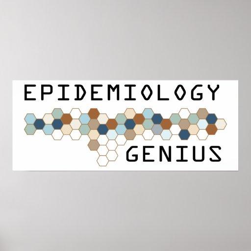Epidemiology Genius Poster