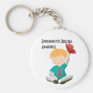 Epidermolysis Bullosa Awareness Keychain