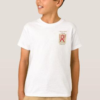 Epidermolysis Bullosa Awareness Ribbon Angel Tee