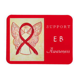 Epidermolysis Bullosa (EB) Awareness Ribbon Magnet