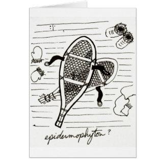 Epidermophyton card