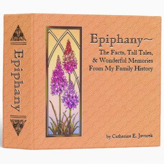 Epifanía libro personalizado de la memoria