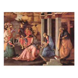 Epifanía por Botticelli Tarjetas Postales