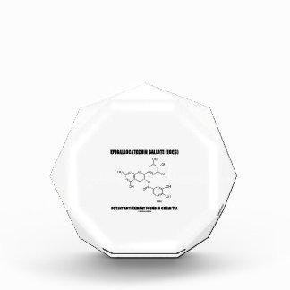 Epigallocatechin gallate (EGCG) Potent Antioxidant Acrylic Award