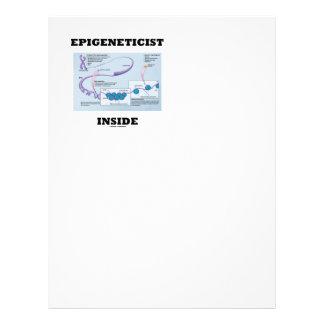 Epigeneticist Inside (Epigenetic Mechanisms) Letterhead