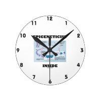 Epigeneticist Inside (Epigenetic Mechanisms) Round Clocks