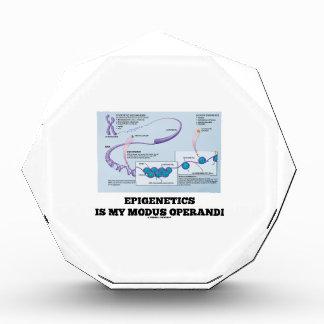 Epigenetics Is My Modus Operandi (Mechanisms) Awards
