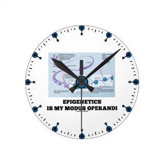 Epigenetics Is My Modus Operandi (Mechanisms) Round Clock