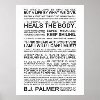 Epigramas y citas de B.J. Palmer Posters