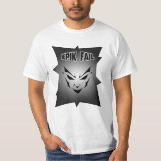 Epik Fail Face (Front) T Shirts