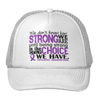 Epilepsia cómo es fuerte somos gorro