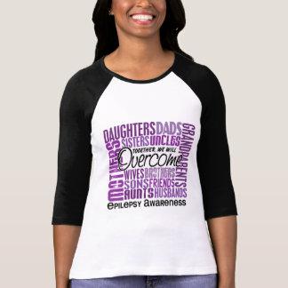 Epilepsia cuadrada de la familia tshirt