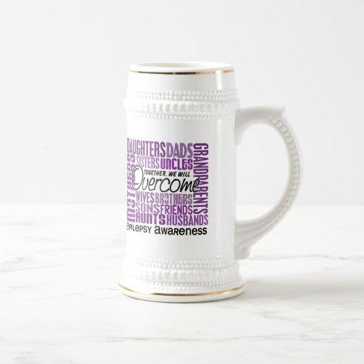 Epilepsia cuadrada de la familia tazas de café