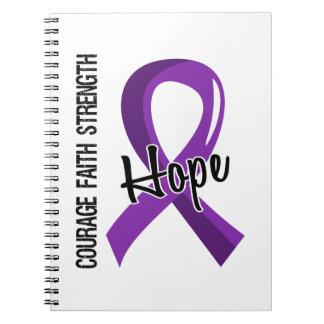 Epilepsia de la esperanza 5 de la fe del valor spiral notebooks