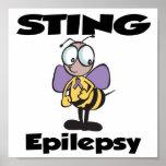 Epilepsia de STING Poster