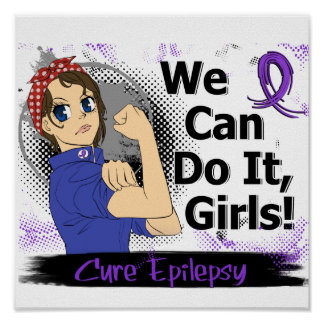 Epilepsia del animado WCDI de Rosie Póster