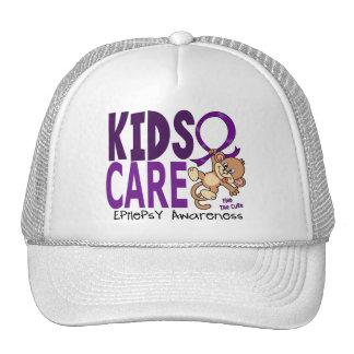 Epilepsia del cuidado 1 de los niños gorros