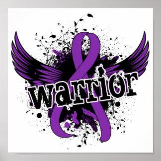 Epilepsia del guerrero 16 póster
