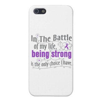 Epilepsia en la batalla iPhone 5 protectores