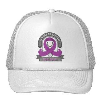 Epilepsia - es cinta retra de la caridad de AOK -  Gorras De Camionero