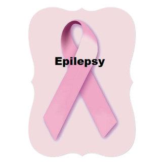 """Epilepsia Invitación 5"""" X 7"""""""