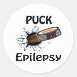 Epilepsia Pegatinas Redondas