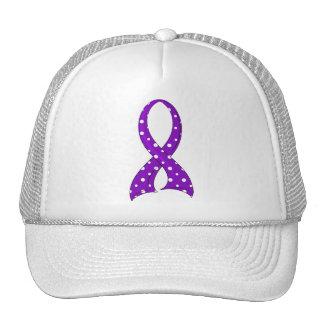 Epilepsia púrpura de la cinta del lunar gorro