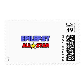Epilepsy All Star Stamp