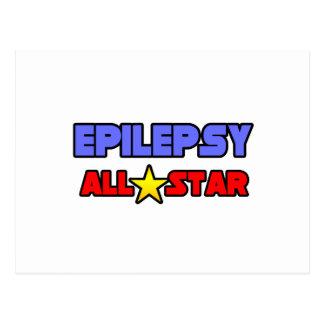 Epilepsy All Star Postcard