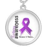Epilepsy Awareness 5 Necklaces
