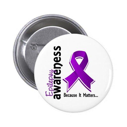 Epilepsy Awareness 5 Pinback Buttons
