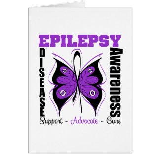 Epilepsy Awareness Butterfly Card