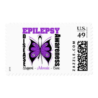 Epilepsy Awareness Butterfly Postage Stamp