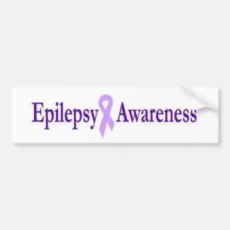 epilepsy awareness car bumper sticker